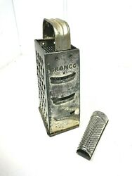 Antique Bromco Large Grater / West Germany Nutmeg Grater Farmhouse