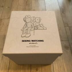 Medicom Toy Kaws Seeing Watching Large And Small Set Plush Toy Figure
