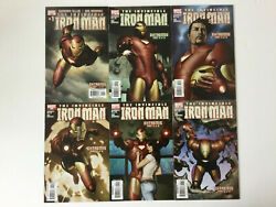 The Invincible Iron Man Numbers 1 To 6 Extremis Full Set Adi Granov 2004