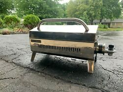 Force 10 Kuuma Portable Boat Gas Grill, Propane, Stainless Steel With Case