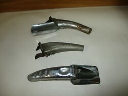3 Vintage Metal Oil Can Pour Punch Opener Spouts Sears And Japan And Plews No. 77
