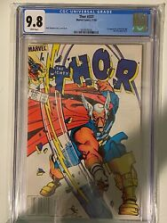 Thor 337 Newstand Edition. First Beta Ray Bill Cgc 9.8 - White Pages