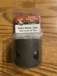 NEW BULLDOG TRAILER MOUNT MALE WELD ON FOR 5 8 PIN #500240