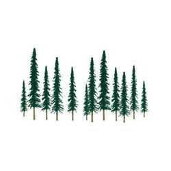 Jtt Scenery Products 92011 Ho 4-6 Super Scenic Conifer Tree Pack Of 24
