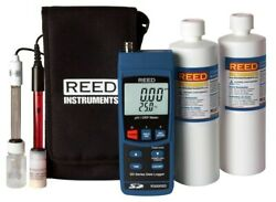 Reed Instruments R3000sd-kit2 Data Logging Ph/orp Meter With Electrodes And