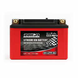 12v Lfp9-bs Motorcycle Scooter Lithium Iron Battery Rechargeable For Honda Bmw