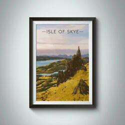Isle Of Skye Poster, Home Wall Decor Poster, High Quality Print Poster