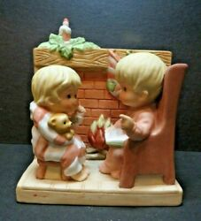 1984 Gift World Of Gorham Music Box-have Yourself A Merry Little Christmas Used