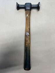 Vintage Plomb 1425 Double Ended Auto Body Hammer Tool.....made In Usa