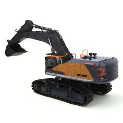 Huina Rc Excavator 2.4ghz 114 22 Channels Metal Construction Kids Toy New 1592