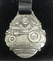 Vintage Watch Fob Allis Chalmers Sterling Silver Collectors Series 020/150 Rare