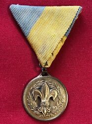Hungarian Leader Boy Scout Medal 1922
