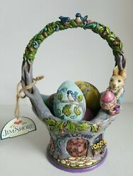 Jim Shore Heartwood Creek Easter Basket 4035131 Welcome To The Art Of Easter Egg