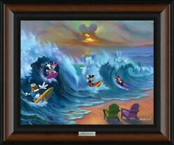 Surfing With Friends By Jim Warren With Mickey Mouse And Friends