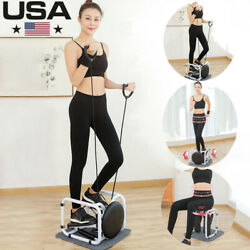 Mini-stepper Air Climber Training Ropes Home Exercise Fitness Workout Machine Us