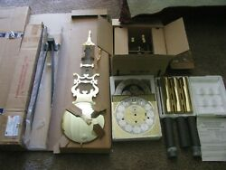 N.o.s Deluxe. Hermle 1171-850 Flagship Grandfather Clock Movement Complete Asse