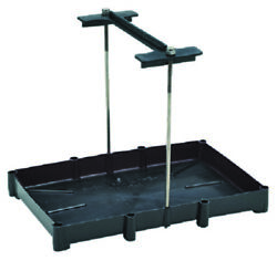 Seachoice 22071 Tray For Battery 29 Series Stainless Steel Hold Down Rods Boat