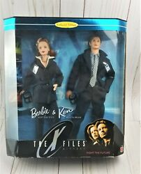 New In Box Barbie Collector Edition Barbie And Ken Mulder And Scully X Files