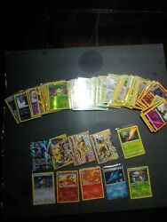 Pokemon Card Lot 100 Holo Official Tcg Cards
