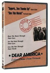 Dear America Letters Home From Vietnam New Dvd