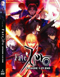 Dvd Anime Fate/zero Complete Tv Series Vol.1-25 End English Dubbed + Free Dvd
