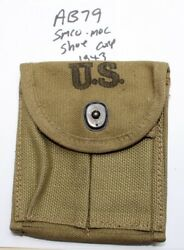 Wwii M1 Carbine Stock Pouch , Smco Moc Shoe Corp 1943 New Orig. Usgi -ab79