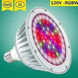 Led Pool Light 120v 40w Replacement For 500w Pentair / Hayward Fixture Us Stock