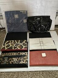 Lot 6 Miche Animal And Classic Print Purse Magnetic Shell Covers