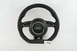 Audi S Line Logo A4 S4 A5 S5 Q5 Steering Wheel Full Leather P16