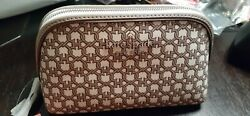 Kate Spade Small Cosmetic Case Spade Link White Multi NEW WITH TAGS $24.99