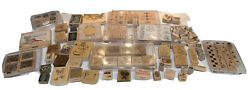 Lot 140 Stamps 1996 Stampin Up Holiday Stamps 2002 Boarders Stamps Celebrate