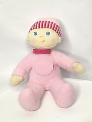 Haba German Snug Up Girl Doll Soft Plush Dolly Luisa Pink My First Baby Toy 10