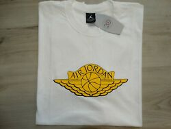 Vintage Wings Nike Air Jordan Menand039s T-shirt New With Tag Size Xl White 79