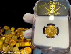 Brazil 1000 Reis Dated 1700 Full Date Ngc Xf Pirate Pendant Jewelry Necklace