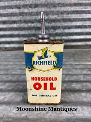 Richfield Household Lead Top Handy Oiler Can - Gas And Oil