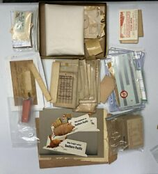 Acme 2020-84 O Scale Random Assortment Of Decals And Signs Huge Lot