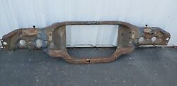 1967 Chevy Impala Caprice Conv Super Natural Radiator Support 1 Yr Onlyb
