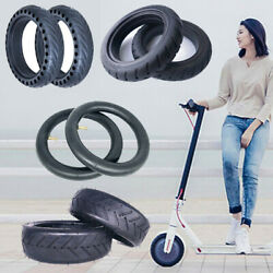 For Xiaomi M365 Electric Scooter 8 1/2x2 Solid Outer Tire Wheel Inner Tube H2