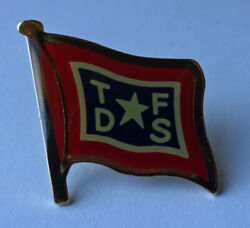 Troms County Steamship Company Norway Pin Badge Medal Medaille Tfds