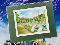 """Disney Parks Wilderness Lodge Deluxe Matte Print By David Doss New 11"""" X 14"""""""