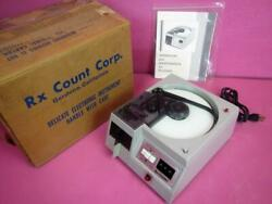 Rx Count Hispac Dsct Tablet Capsule Pharmacy Pill Counter System W/ Original Box