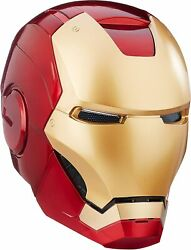 Marvel Legends Iron Man 2 Led Light Up Eyes Role Play Helmet Toy 18 Years Up