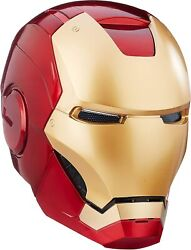 Iron Man Helmet Marvel Legends Role Play Toy Abs Plastic2 Led Light 18 Years Up