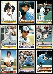 1979 O-pee-chee Baseball Almost Complete Set 7 - Nm