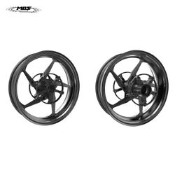 Mos Forged Aluminum Alloy Wheels Rims For Yamaha Tmax 530 And Tmax 560 Black