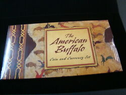 2001 United States Mint American Buffalo Coin And Currency Set Sealed