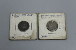 1860/1887 United States Indian Head Penny