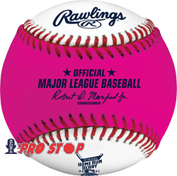 2021 Rawlings All Star Game Official Home Run Derby Pink Money Baseball - Boxed