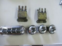1955 Ford Fairlane Power Window Switch Set 1-4 Gang Switch 3 Single Switches Oem