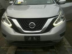 Front Clip 3.5l Halogen Headlamps Without Fog Lamps Fits 15-17 Murano 1022087
